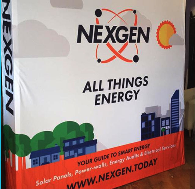NexGen Energy - Tradeshow Booth Design