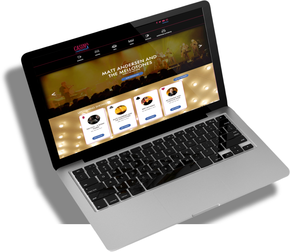 Casino Website Designs