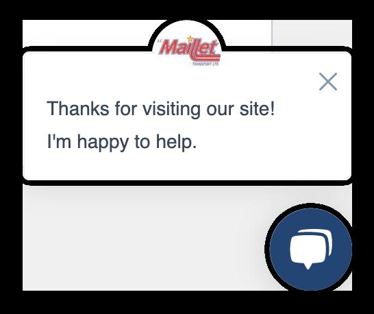 Hubspot chat window
